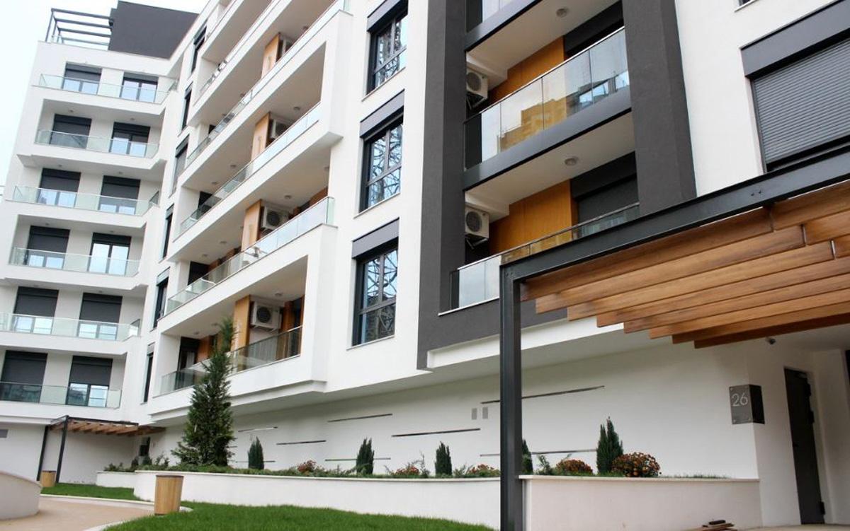 central garden – residential & office complex, belgrade